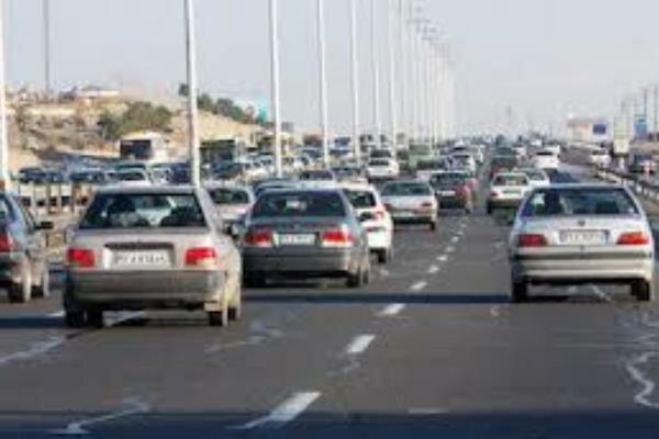 ترافیک محورهای مازندران عادی و روان است
