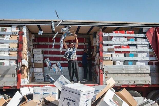 ۲.۷ میلیارد ریال لوازم بهداشتی قاچاق در ساری کشف شد