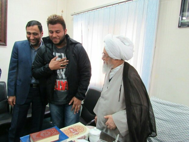 تشرف یک تبعه هند به دین اسلام در ساری