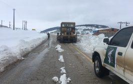 اقدامات سپاه و بسیج در زمان بارش برف اخیر چهاردانگه