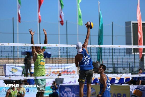 تیم ملی والیبال ساحلی در رامسر اردو زد