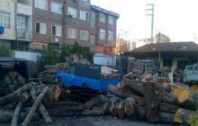 کشف دو تن چوب قاچاق در چهاردانگه توسط پاسگاه انتظامی کیاسر