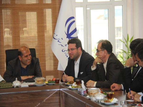 جلسه سرپرست شهرداری ساری با فرماندار برای بررسی روند احداث نیروگاه زباله سوز