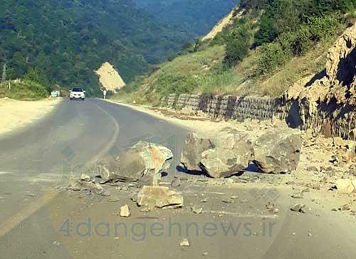 بخشدار چهاردانگه: جاده ساری - کیاسر باز است/ احتمال ریزش سنگ همچنان وجود دارد