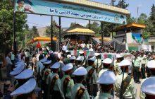 آئین تشییع دو شهید گمنام در مرزن آباد چالوس