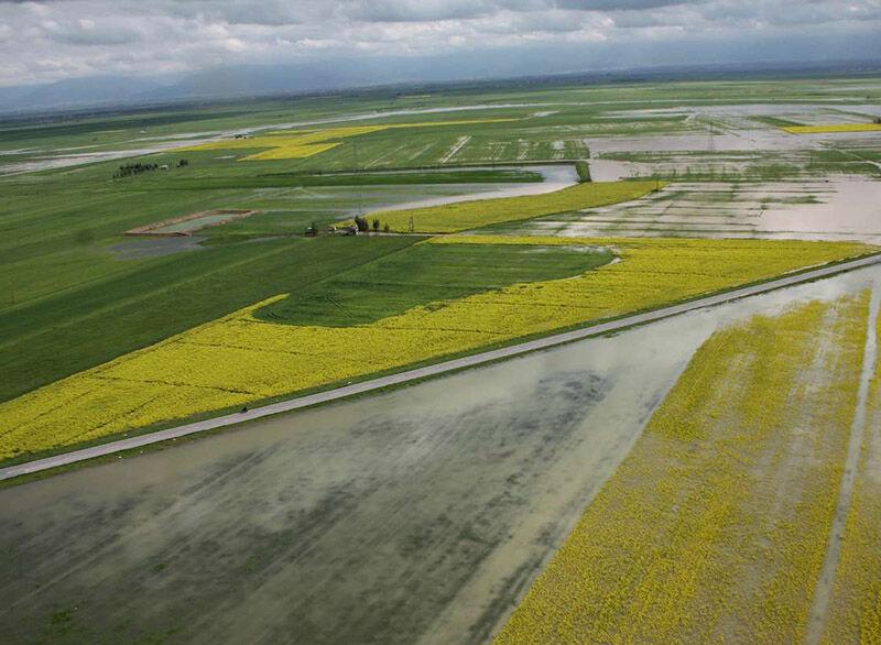 اختصاص ۲۱ میلیارد تومان تسهیلات و کمک بلاعوض در بخش کشاورزی به سیل زدگان مازندران
