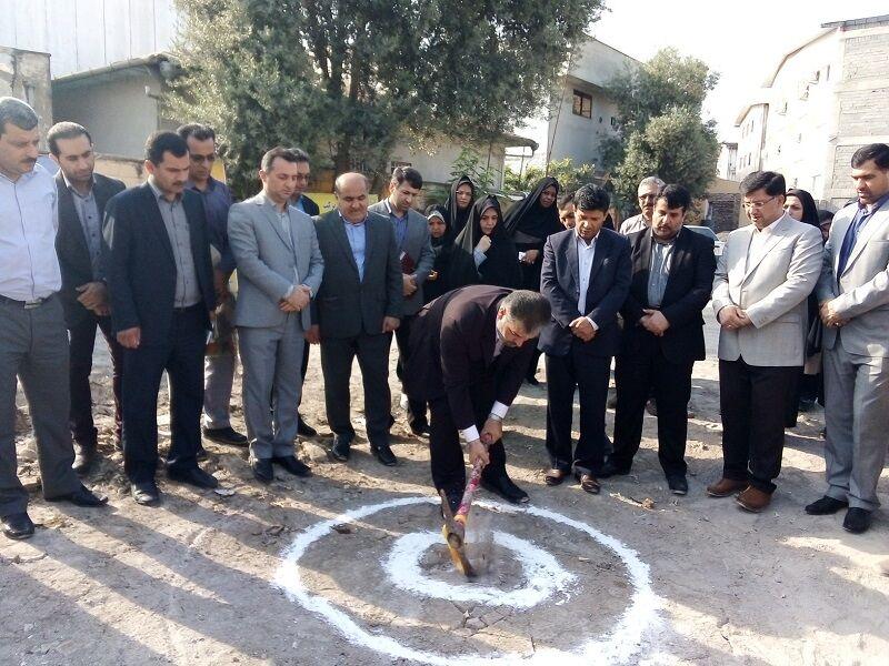 تجدید ساخت دبیرستان عاشورا در قائمشهر آغاز شد