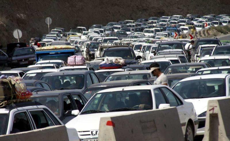ترافیک جاده های مازندران پرحجم است