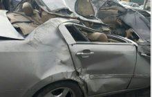 تصادف در جاده هراز پنج کشته بر جای گذاشت