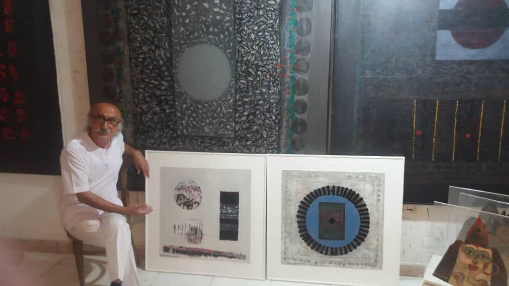 عکس های کتاب اول ابتدایی ، جرقه ای برذوق هنری نقاش ملی