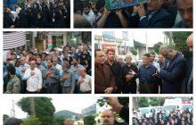 مازندرانی ها از پیکر شهید مدافع حرم استقبال کردند
