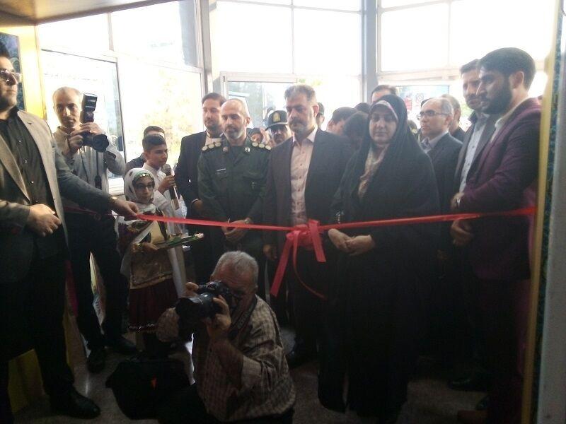 نمایشگاه مد و پوشش اسلامی در قائمشهر گشایش یافت