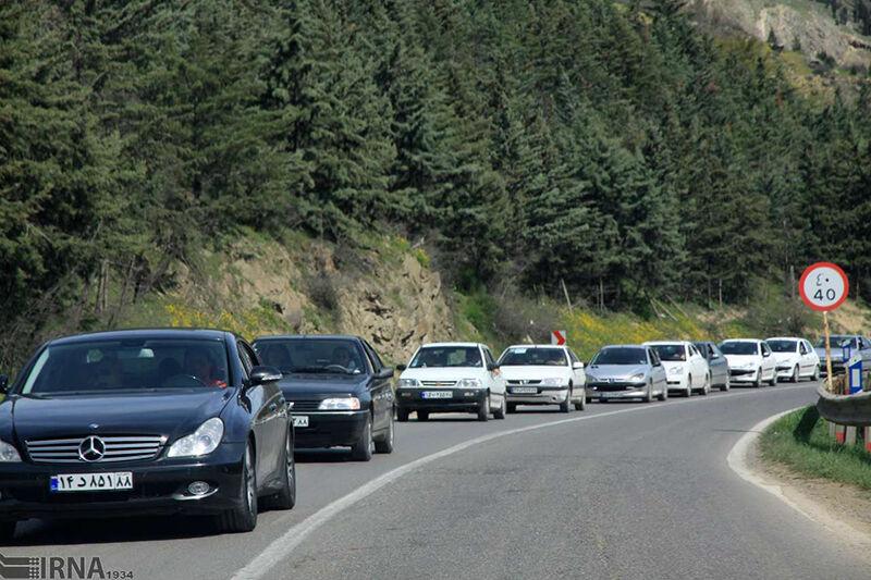 هراز و کندوان به پیشواز ترافیک سنگین تعطیلات آخر هفته رفتند