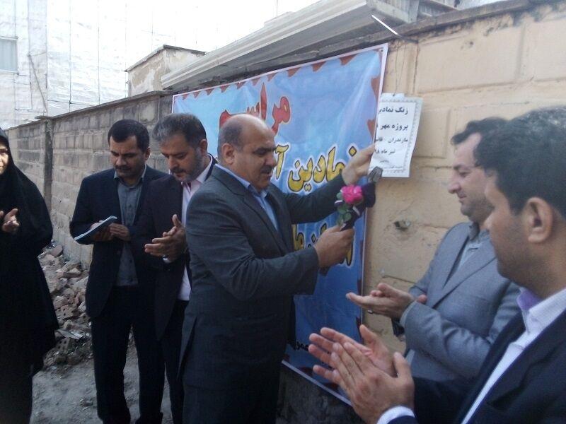 پروژه مهر مدارس مازندران از قائمشهر آغاز شد