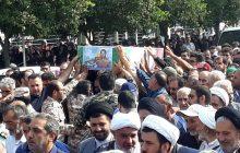 پیکر مطهر شهید مدافع حرم ابراهیم عشریه در زادگاهش آرام گرفت