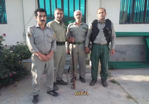 دستگیری شکارچیان غیرمجاز در چهاردانگه
