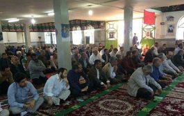 گزارش تصویری از اقامه نماز عید سعید فطر در شهر کیاسر