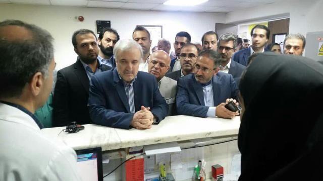 اورژانس نیمهکاره بیمارستان شهید بهشتی نوشهر تا پایان سال افتتاح میشود