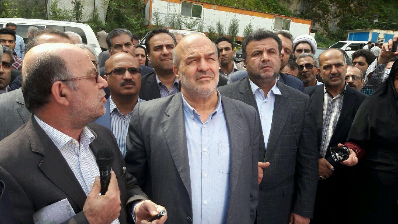 بازدید رئیس سازمان حفاظت محیط زیست کشور از محور تنکابن - الموت - قزوین