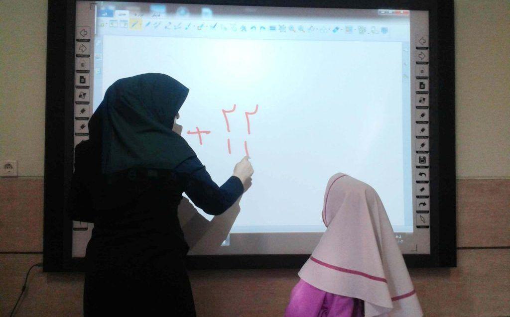 تمامی مدارس ابتدایی مازندران هوشمند هستند