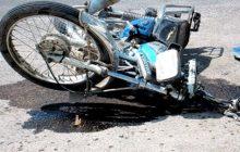 جاده بابل راکب موتورسیکلت را به کام مرگ کشاند