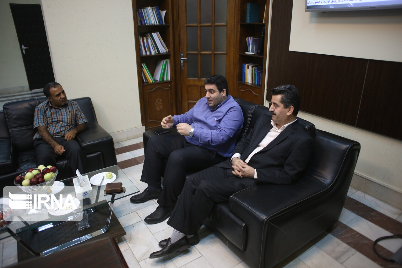 دیدار رئیس و خبرنگاران ایرنا مازندران با مدیرکل فرهنگ و ارشاد اسلامی