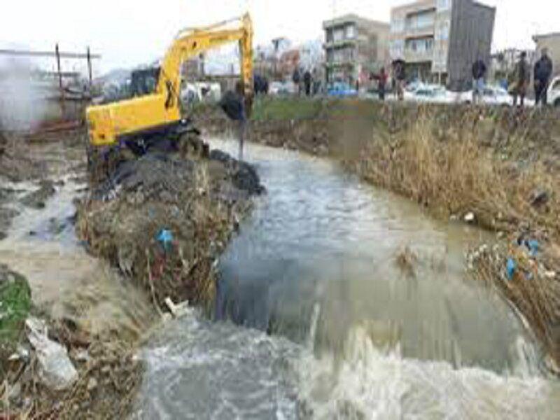 لایروبی 60 کیلومتر از رودخانه سیاهرود در شهرستان جویبار انجام شد