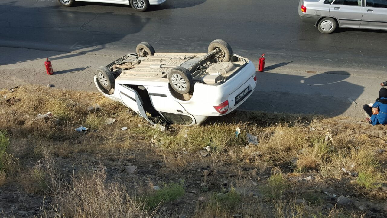 مرگ دلخراش دوقلوها در حادثه رانندگی ایزدشهر نور