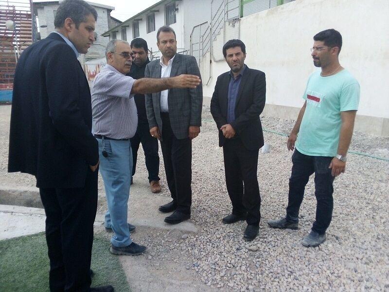 معاون استاندار مازندران: ورزشگاه شهید وطنی قائمشهر تا اغاز لیگ برتر اماده میشود