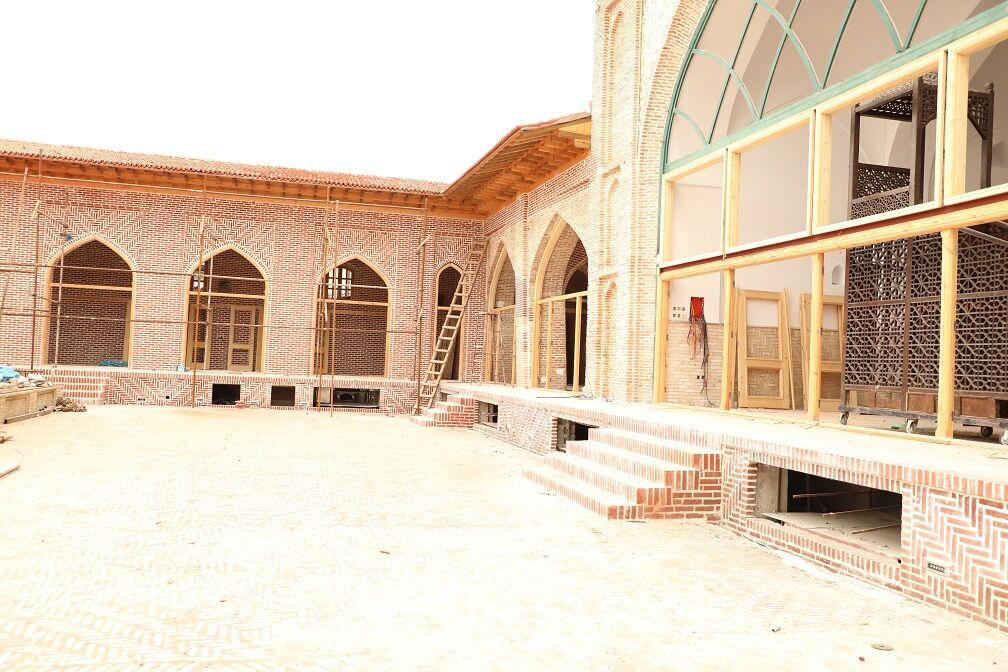 وزارت راه و شهرسازی ۵۰ میلیارد ریال به بازسازی مسجد جامع ساری کمک کرد