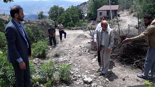 مشکل زمین مدرسه روستای اَدرو با همکاری معتمدین محلی حل شد