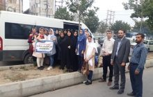 17 دانش آموز دختر عازم اردوی فرهنگی تربیتی بنیاد علوی کشور شدند