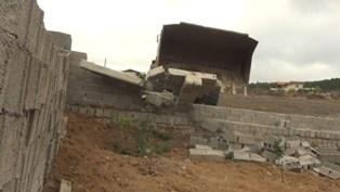 تخریب ساخت و سازهای غیرمجاز در چهاردانگه + فیلم