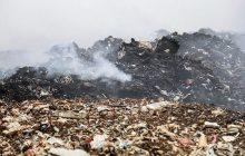 آتشسوزی سایت زباله فریدونکنار پس از ۱۷ ساعت مهار شد