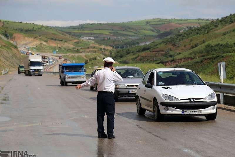 جادههای مازندران در بند ترافیک سنگین