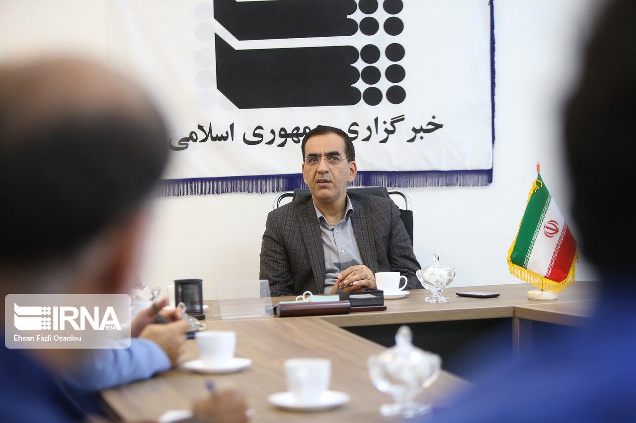 حضور معاون سیاسی، امنیتی و اجتماعی استاندار مازندران در دفتر ایرنا