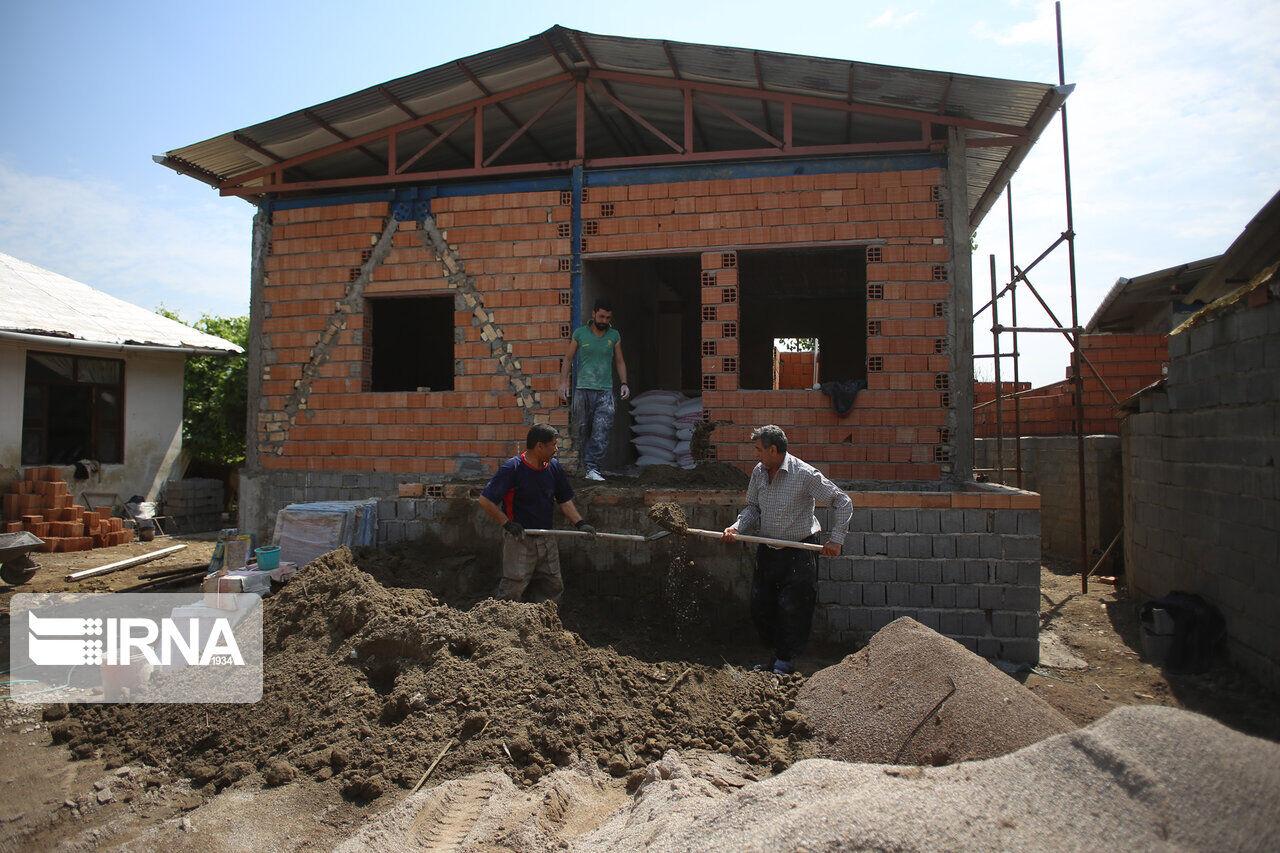 واحدهای مسکونی تعمیری سیلزدگان تا پایان شهریور تحویل میشود