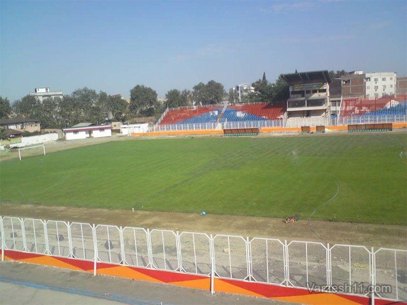 ورزشگاه نساجی قائمشهر آماده برگزار رقابتهای لیگ برتر
