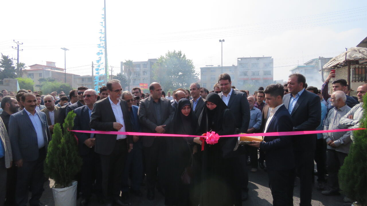 پایان انزوای ساکنان خیابان ۲۲ بهمن ساری از پازل ترافیکی