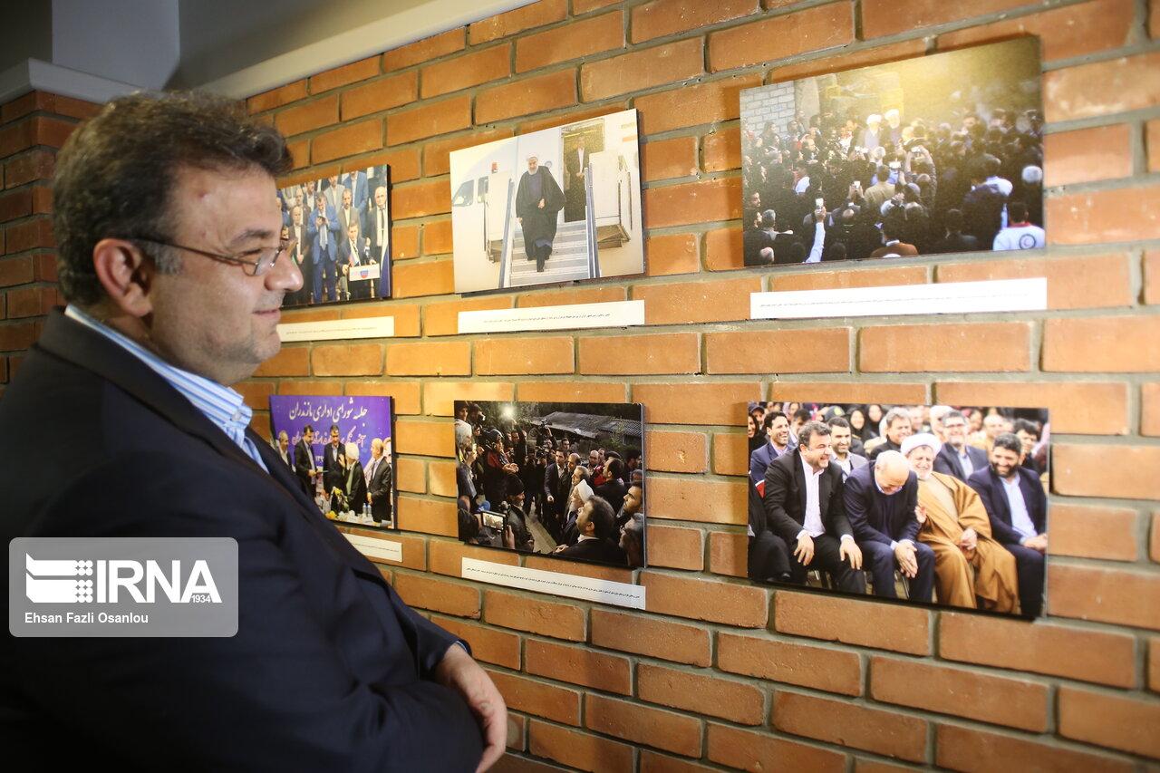 پایان کار نمایشگاه عکس کیوسک در ساری