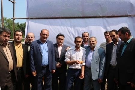 بازدید معاون وزیر آموزش و پرورش از غرفه کانون فرهنگی تربیتی شهید رجایی چهاردانگه