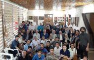 برگزاری دومین همنشینی اصحاب فرهنگ و هنر در خانه موزه کیاسر (تصاویر)