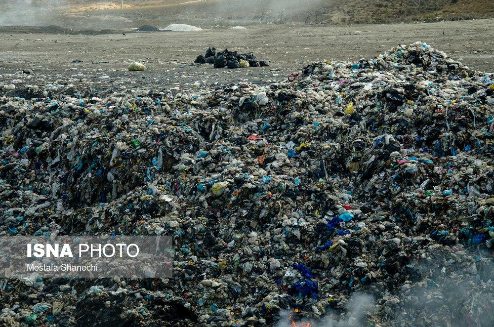 اعتراض مردم به دپوی زباله در منطقه «گویچاله»
