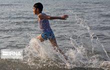 تراز آب دریای خزر ۱۲ درصد کم شد