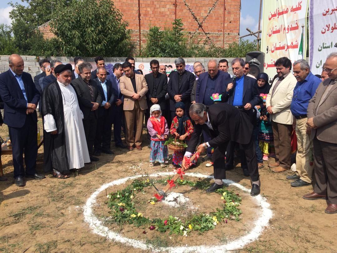 ساخت ۱۰ واحد مسکونی محرومیتزدایی در مازندران آغاز شد