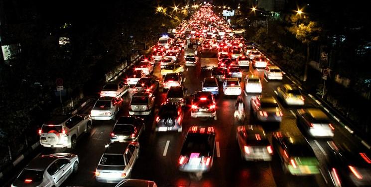 ترافیک شبانه سوغات گشت و گذار در چهاردانگه و دودانگه ساری +فیلم