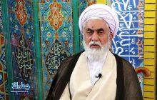 فیلم: خداحافظی حجت الاسلام تیموری با مردم چهاردانگه