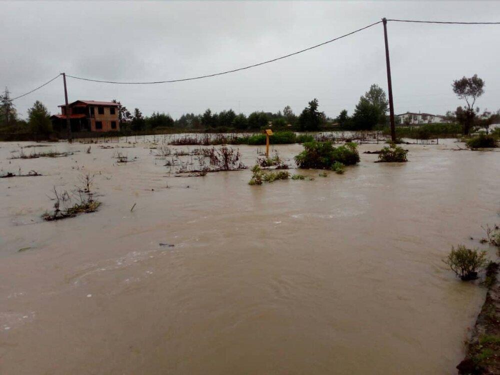 آواره شدن 40 خانوار با وقوع دوباره سیل در نوشهر