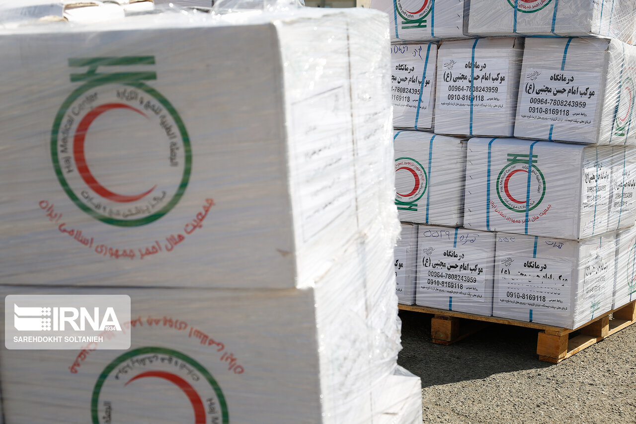 ارسال ۱۵ میلیارد ریال دارو از مازندران برای زائران در راهپیمایی اربعین