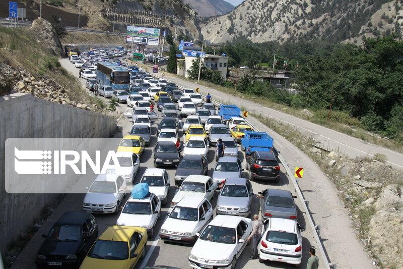 تعطیلات آخر هفته، ترافیک را به جادههای مازندران برگرداند